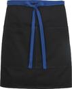 Edwards Garment 9027 Half Bistro Apron-Color Blocked