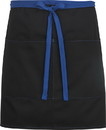 Edwards Garment 9027 Half Bistro Apron-Color Blocked