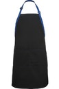 Edwards Garment 9028 Bib Apron-Color Blocked
