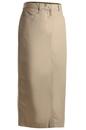 Edwards Garment 9779 Chino Skirt - Women's Long Chino Skirt