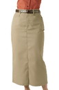 Edwards Garment 9779 Chino Skirt - Women's Long Chino Skirt