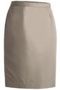 Edwards Garment 9792 Straight Skirt - Women's Microfiber Straight Skirt