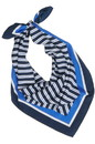 Edwards Garment S008 Triple Stripe Scarf