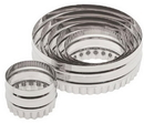 Ateco 14400 2-Sided Round Cutter Set 6pc