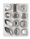 Ateco 4840 72pc Tartlet Mold Set