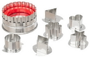 Ateco 4841 Large Linzer Cutter Set