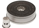 Ateco 5307 11pc Fluted Round Cutter Set