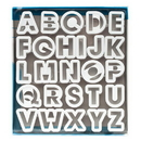 Ateco 5770 Alphabet Cutter Set