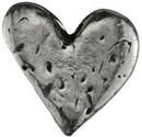 AzureGreen A4502H Heart Pocket stone