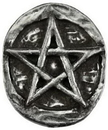 AzureGreen A4502ST Pentagram pocket stone