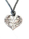 AzureGreen AWOLL Wolf Lovers amulet