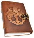 AzureGreen BBBL3009 Tree of Life leather w/ latch