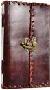 AzureGreen BBBLPOE 1842 Poetry leather blank book w/ latch