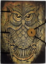 AzureGreen BBBU2856 Owl journal 4 1/2