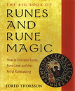 AzureGreen BRUNRUN Runes & Rune Magic, Big Book Of by Edred Thorsson