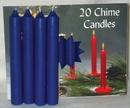 AzureGreen C4DB Dark Blue Chime Candle 20pk