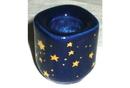AzureGreen CH40BS Cobalt Ceramic Starry holder