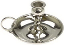 AzureGreen CH81N Nickel chime candle holder