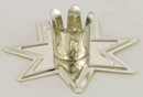 AzureGreen CHT265 Silver Fairy Star Chime holder