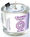 AzureGreen CVCSCRO Crown chakra soy votive candle