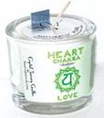 AzureGreen CVCSHEART Heart chakra soy votive candle