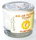 AzureGreen CVCSSOL Solar chakra soy votive candle