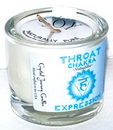 AzureGreen CVCSTHR Throat chakra soy votive candle