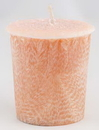 AzureGreen CVSPSA Sandalwood Palm votive(peach)
