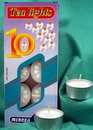 AzureGreen CVTEA Tealight Candles 10/box