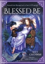 AzureGreen DBLEBE Blessed Be cards by Lucy Cavendish