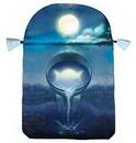 AzureGreen DBSILW Silver Witchcraft tarot bag