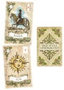 AzureGreen DOLDSTY Old Style Lenormand tarot