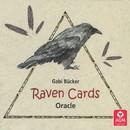 AzureGreen DRAVCAR Raven Cards oracle by Gabi Bucker