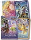AzureGreen DWHIHEA Whispers of Healing oracle cards by Angela Hartfield