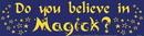 AzureGreen EBDOY Do You Believe in Magick
