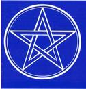AzureGreen EBPEN Pentagram Bumper Sticker