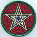 AzureGreen ESCEL Celtic Pentagram patch 3