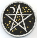 AzureGreen ESSTA Starry Pentagram iron-on patch 3