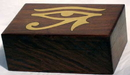 AzureGreen FB46E Brass Inlaid Eye of Horus Box 4
