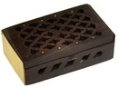 AzureGreen FBB21 Rosewood Filigree box 2 3/4