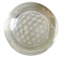 AzureGreen FC55FOL 55mm Flower of Life Crystal ball