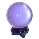AzureGreen FCB642 75 mm Lavender crystal ball