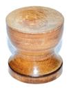 AzureGreen FCHWOO Wood gazing ball stand (3/pk)