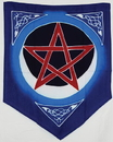 AzureGreen FFIP14 Flag: Pentacle Moon