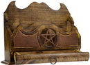 AzureGreen FLH10 Pentagram letter holder 11