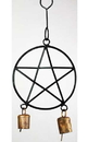 AzureGreen FW023 Pentagram wind chime 5