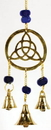 AzureGreen FW510 Three Bell Triquetra wind chime