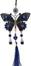 AzureGreen FWH003 Butterfly Evil Eye wall hanging