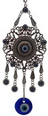 AzureGreen FWH005 Flower Evil Eye wall hanging