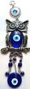 AzureGreen FWH019 Owl Evil Eye wall hanging